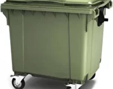 Мусорный пластиковый контейнер 1100л