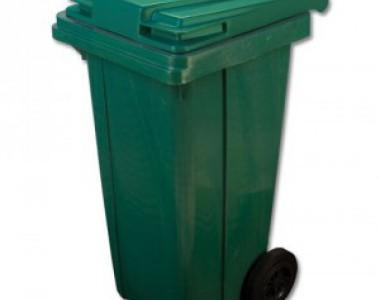 Мусорный пластиковый контейнер 120л