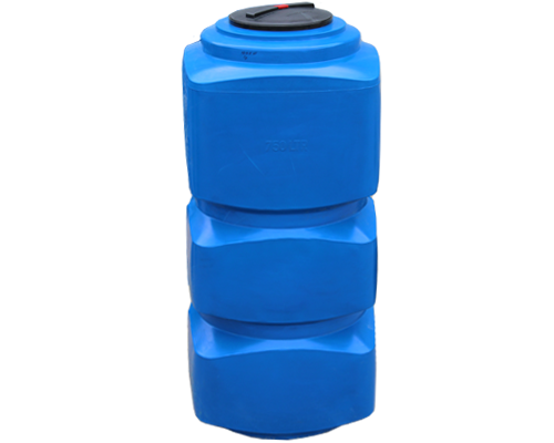 Накопительный бак для воды 750 л, для помещений