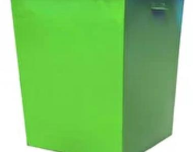 Контейнер металлический 0,75л с крышкой