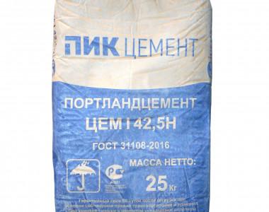 Цемент Пик М500 Д0 (25кг) (Амвросиевский цементный завод)